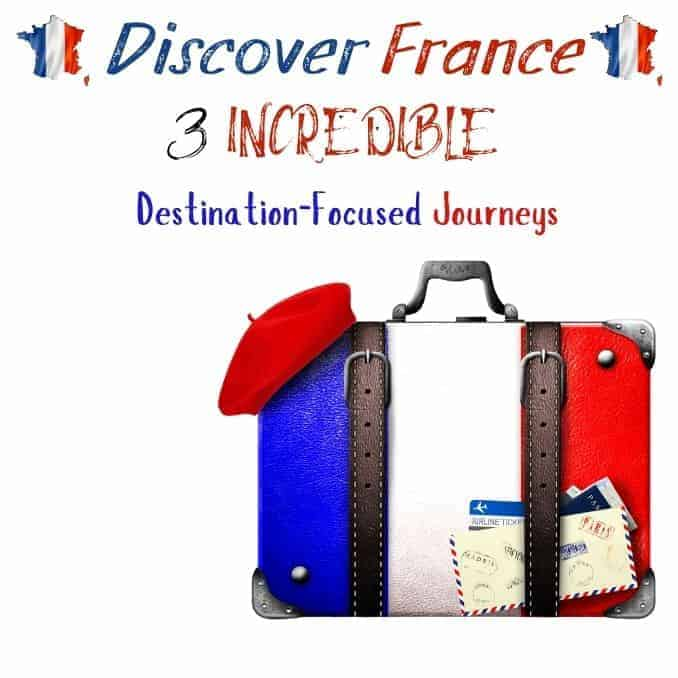 Discover France Luggage