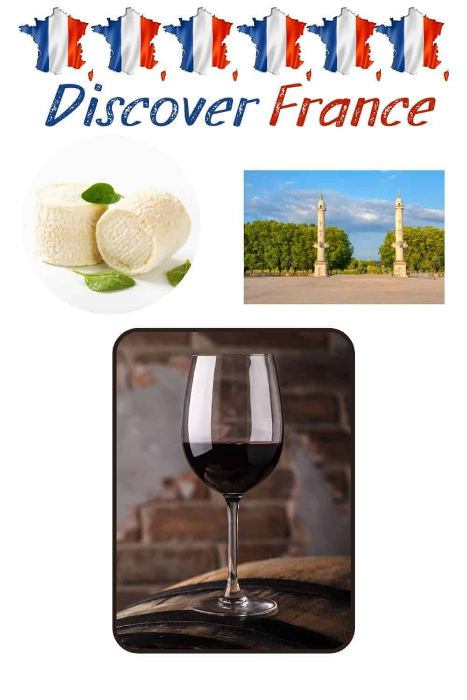 Discover France cheese wine Place Des Quinconces