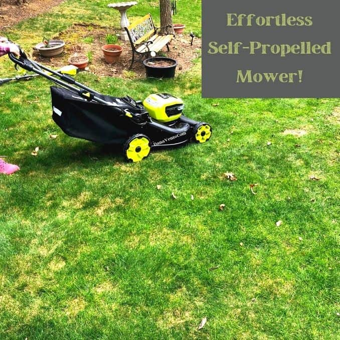Self Propelled Mower In Lawn and Why