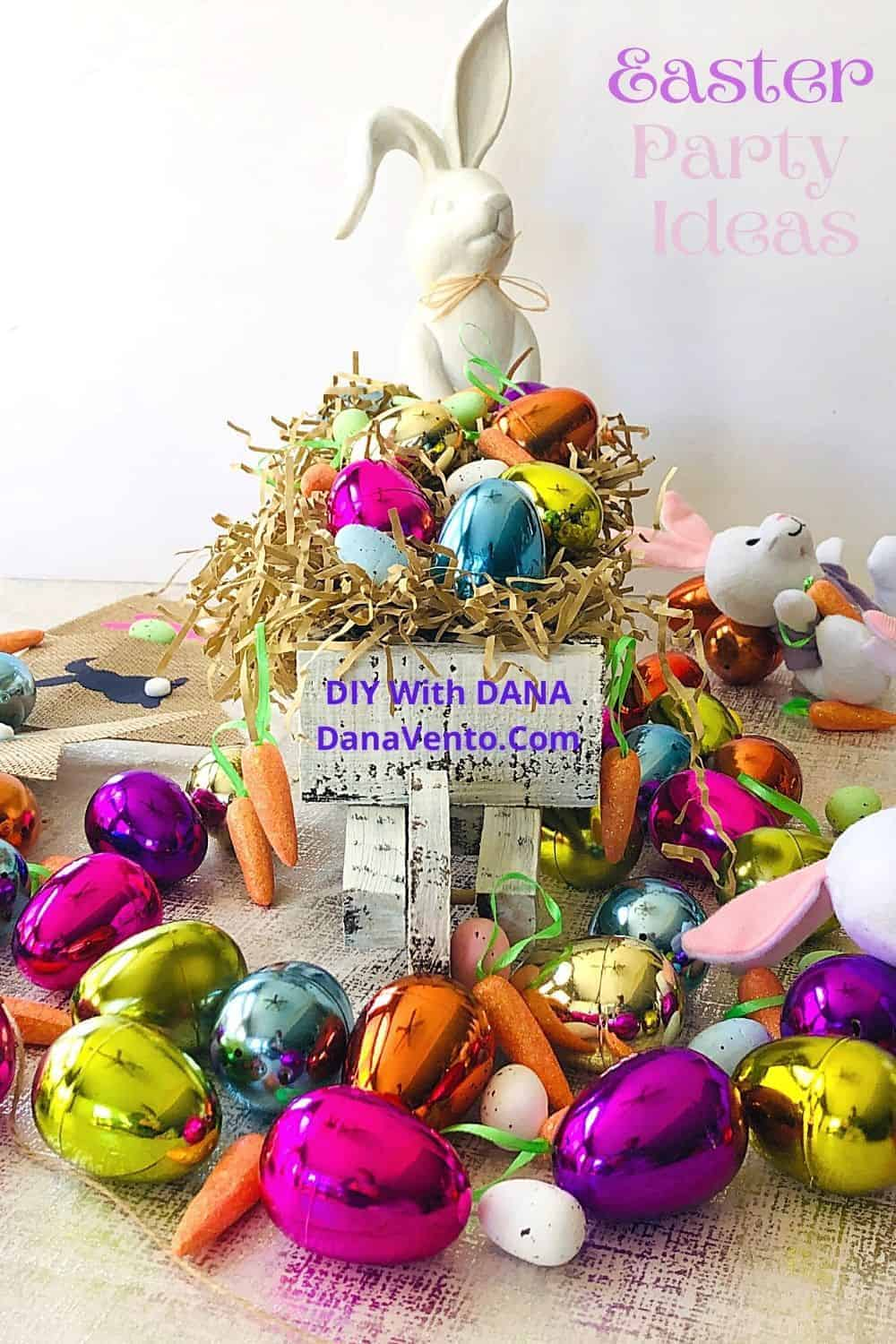 Simple Easter Party Ideas Bunny eggs