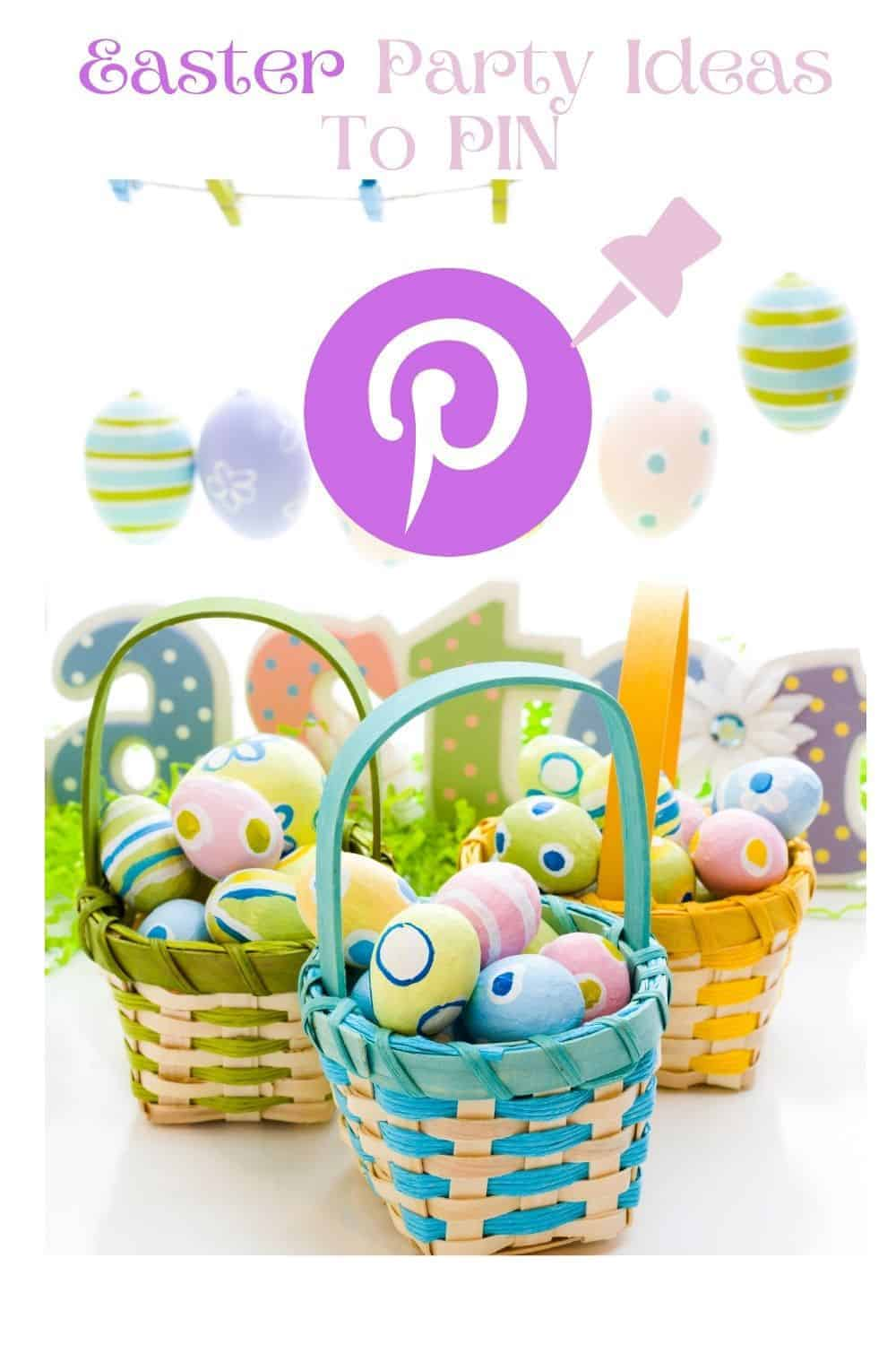 Simple Easter Party Ideas Pinterest Link