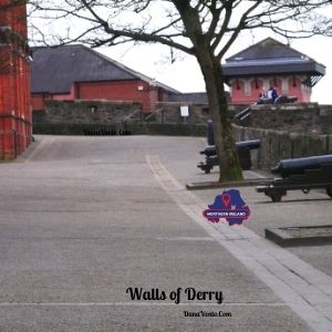 Walls of Derry: 1 Mile of Powerful History & Epic Scenery