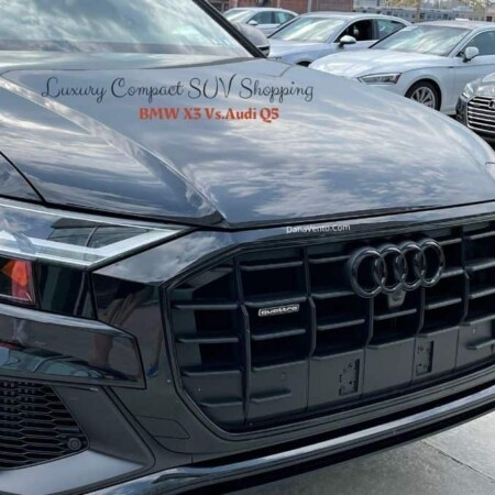Comparitive Luxury Compact SUV 4 Cylinder Shopping Audi Grill
