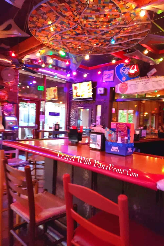 Inside Nacho Hippo in Myrtle Beach Bar Area