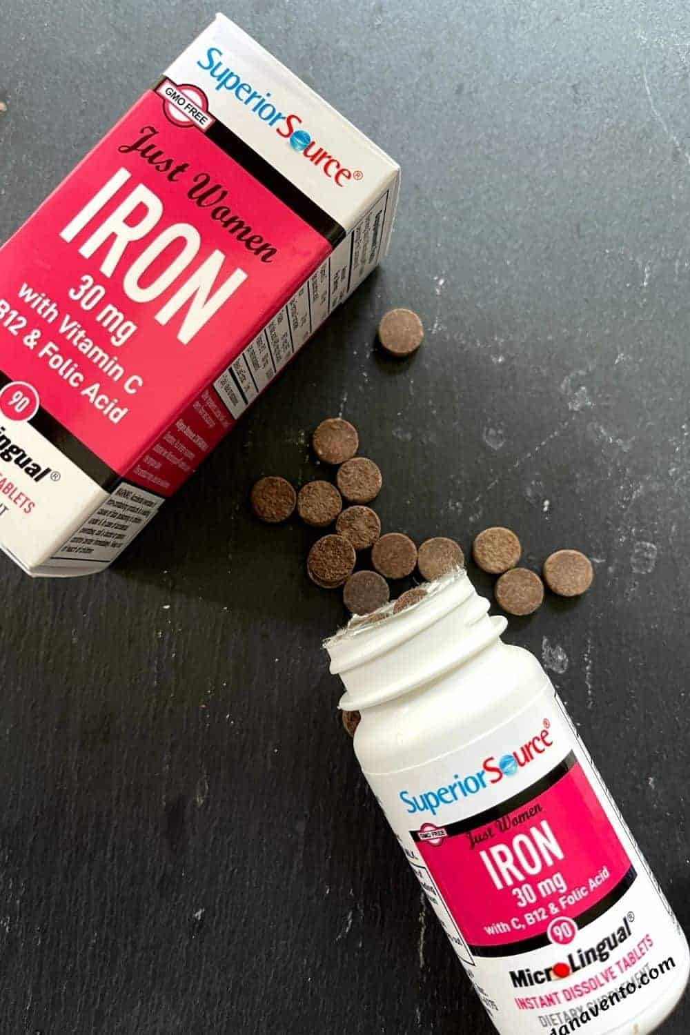 Iron to support a healthy mind and body