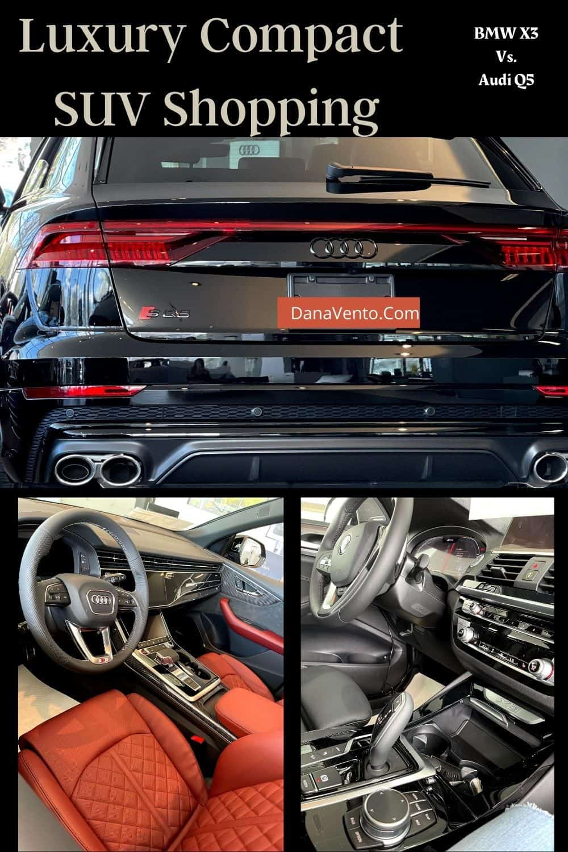 Luxury Compact SUV Shopping Audi vs. BMW
