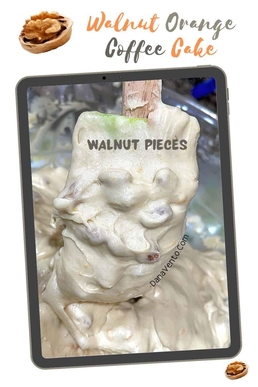 Walnut Orange Coffee Cake Walnut Pieces