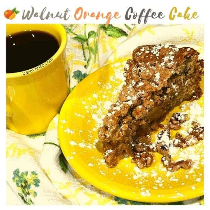 Brunch-Worthy Walnut Orange Coffee Cake
