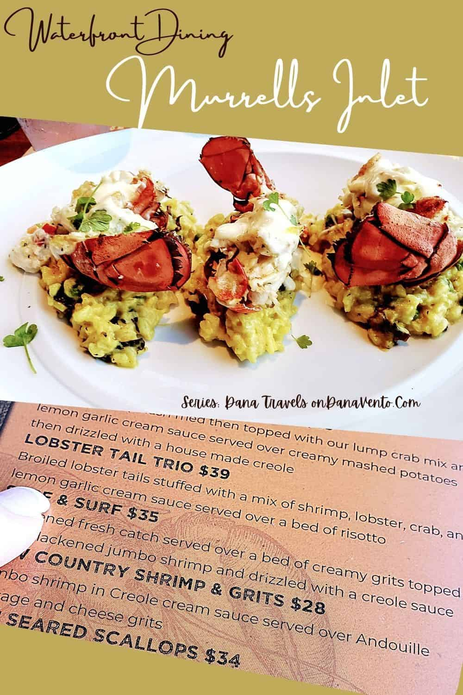wicked Tuna Murrells Inlet menu lobster