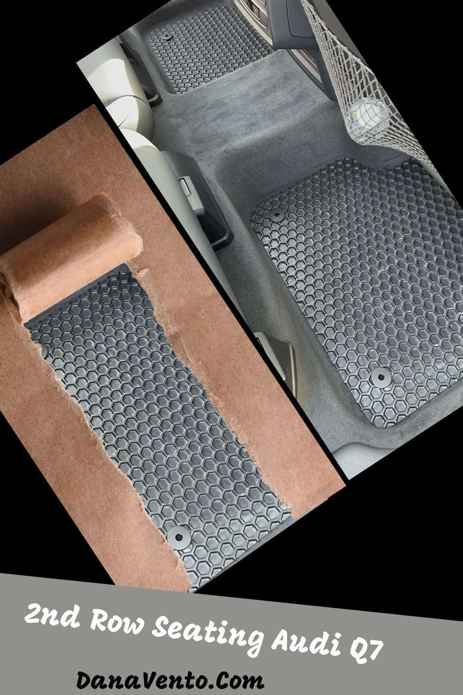 Hexomat custom car mats 2nd row seating