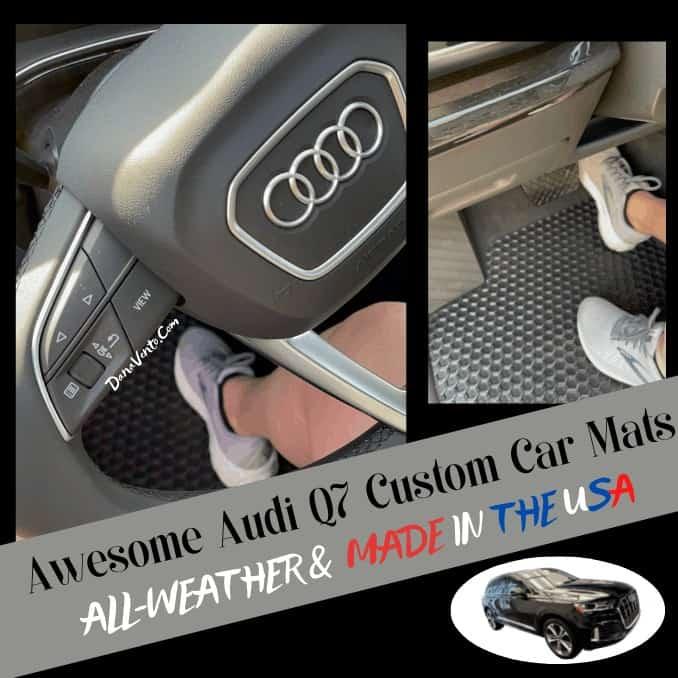 Hexomat custom car mats Dana Behind Wheel