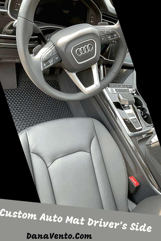 Hexomat custom car mats Drivers Side Audi Q7