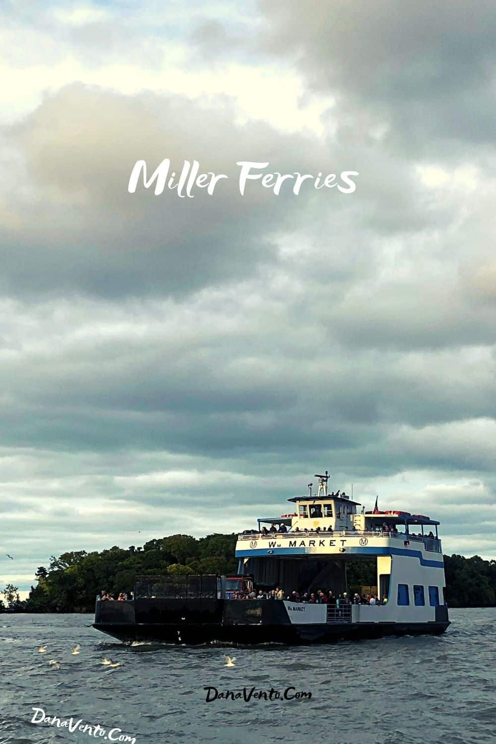 Miller Ferries in Water returning Insiders Guide to Put In Bay