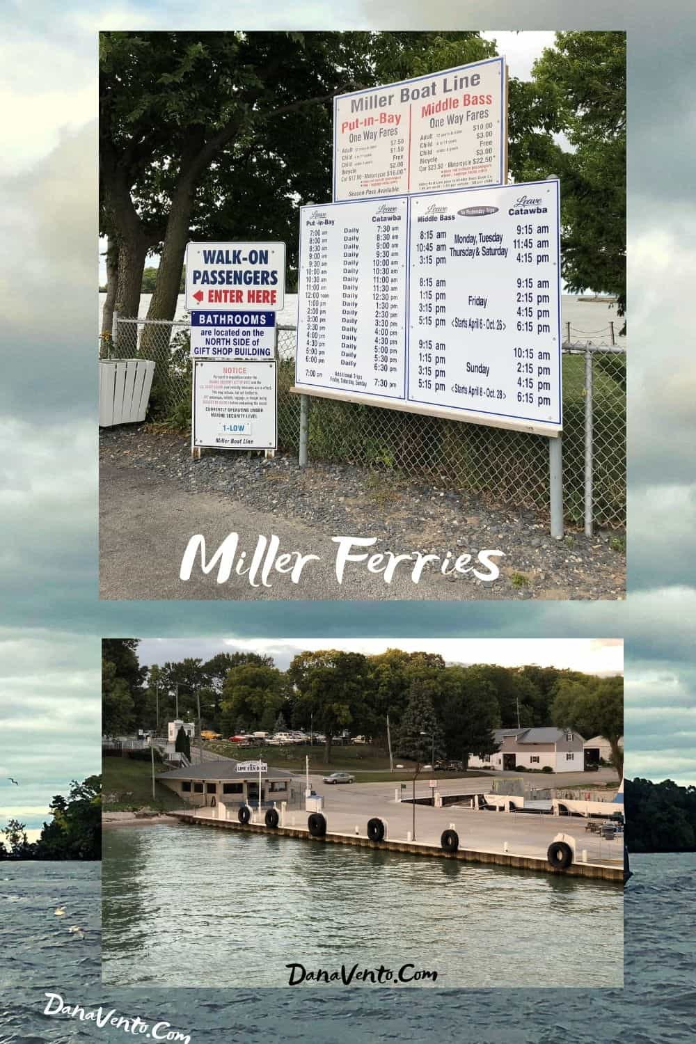 Miller Ferries on Island Side Insiders Guide to Put In Bay