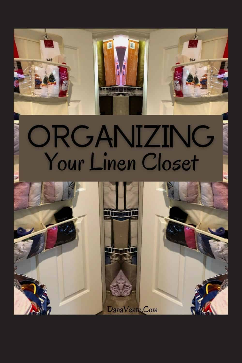 Organizing Your Linen Closet to declutter your home