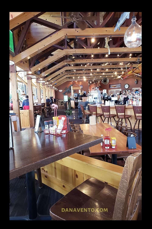 Put In Bay Boardwalk Eatery Inside the Upper Deck