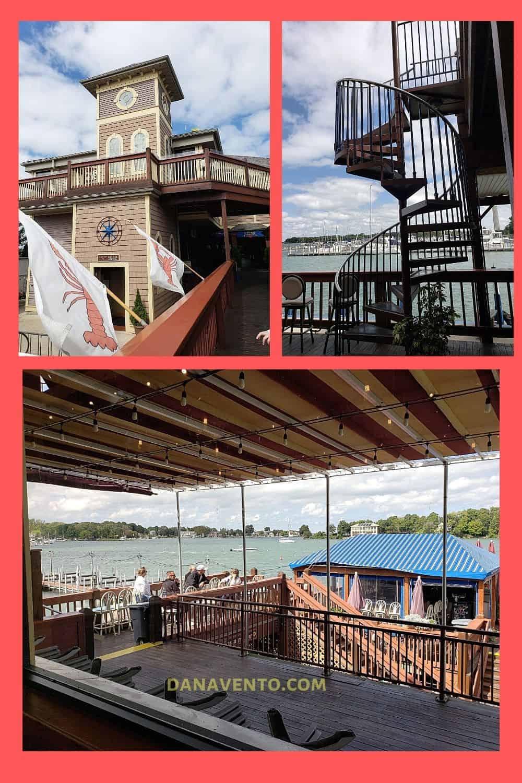 Put In Bay Boardwalk Eatery exterior decks