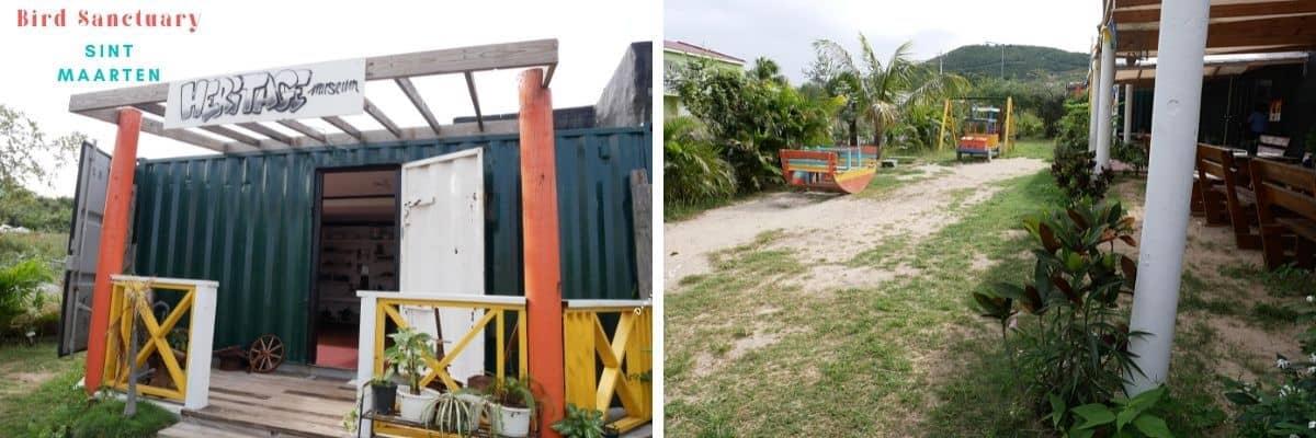 Sint Maarten Bird Sanctuary Parrot Ville From exterior Museum
