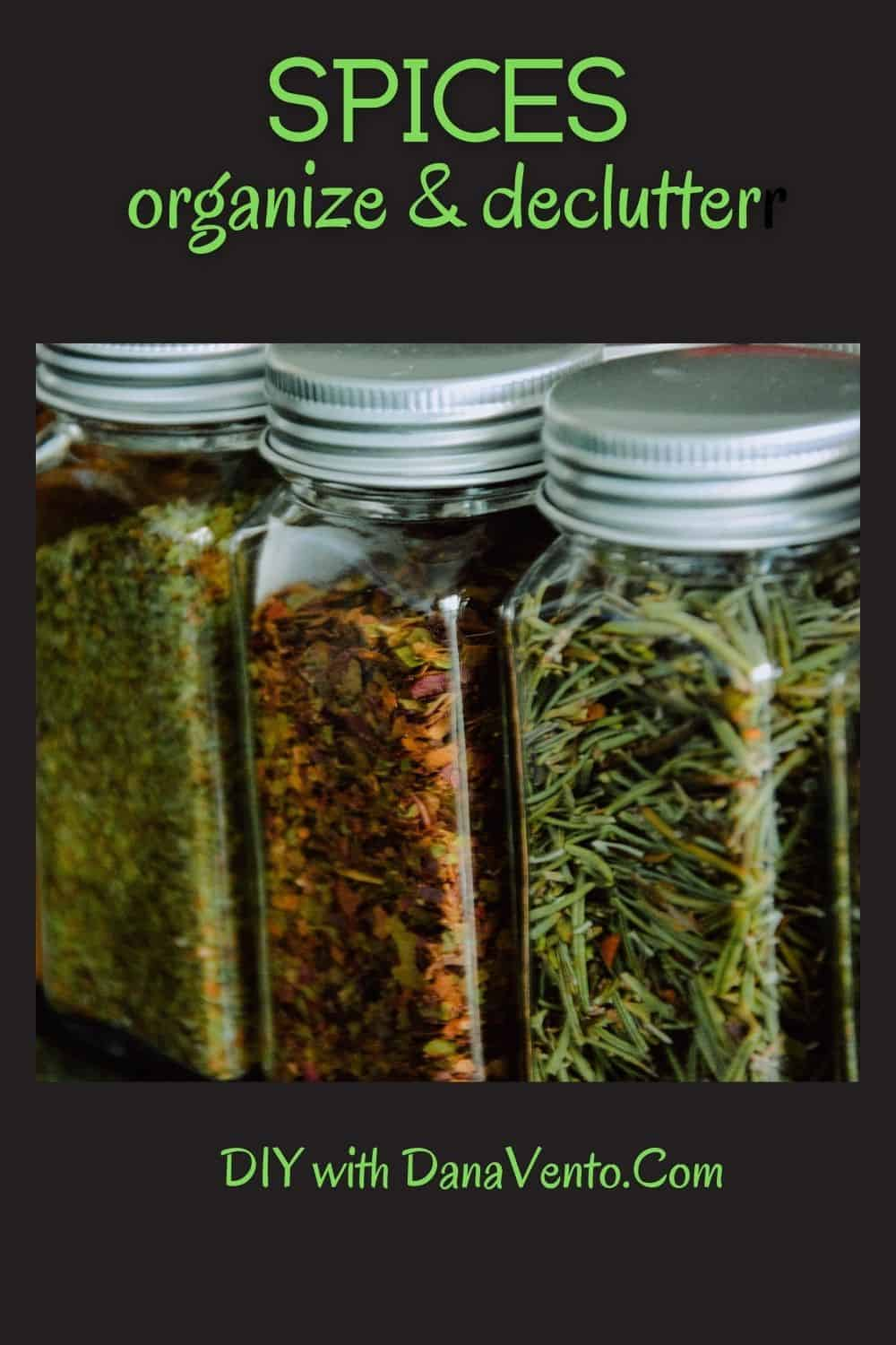 Spice cabinet declutter your home