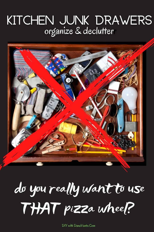 kitchen drawer organization to declutter your home pizza wheel
