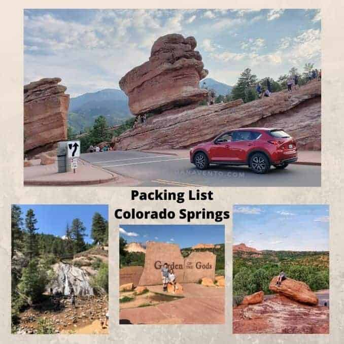 Colorado Springs. Summer Packing.