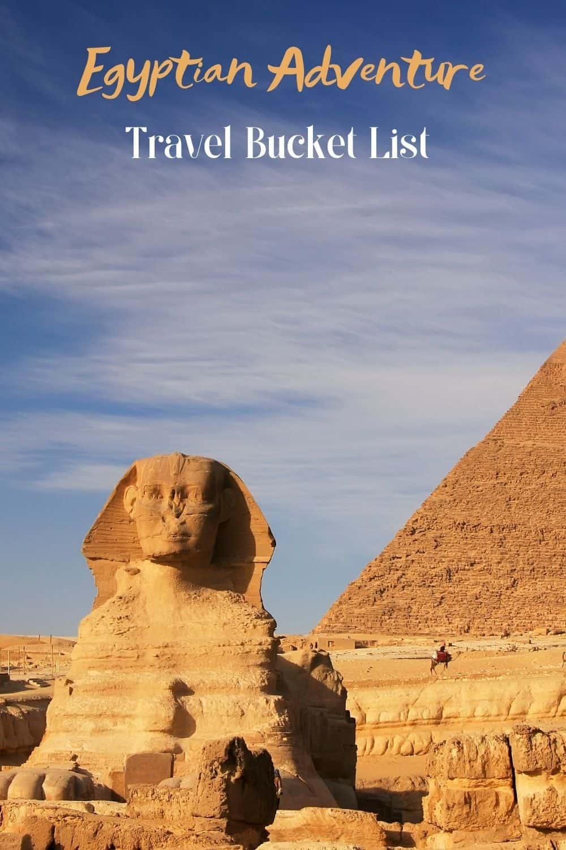 Egyptian Adventure Travel Bucket List