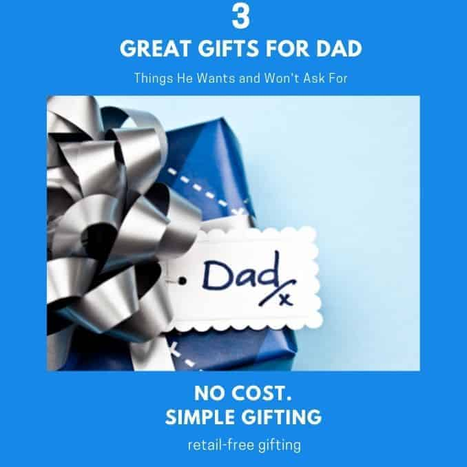 Gifts Dads Really Want and won't ask for