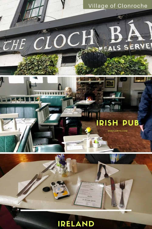 Irish Pub in Clonroche Exterior and interior