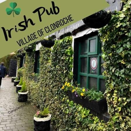 Irish Pub in Clonroche outside of Cloch Ban