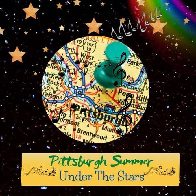 Pittsburgh Summer Under The Stars Musical Notes