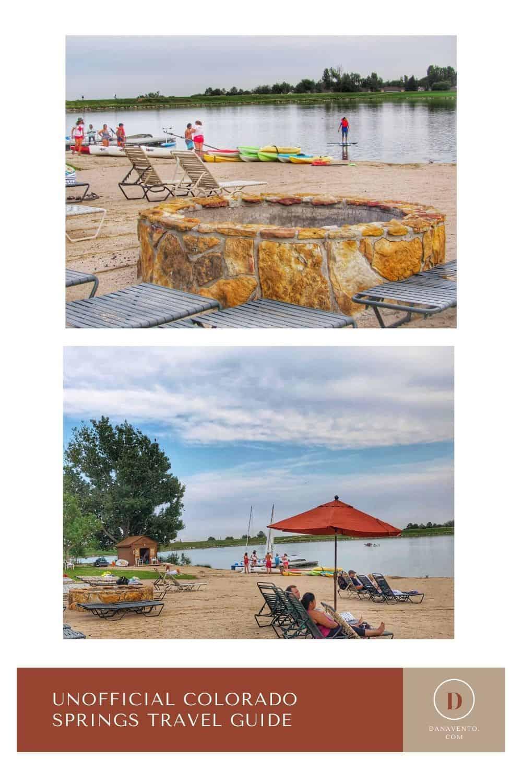Unofficial Colorado Springs travel guide Cheyenne Mtn Resort lake
