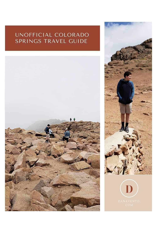 Unofficial Colorado Springs travel guide Pikes Peak