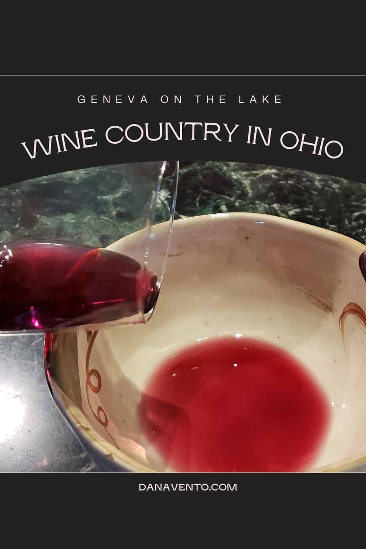 Wine Country In Ohio wine spitoon