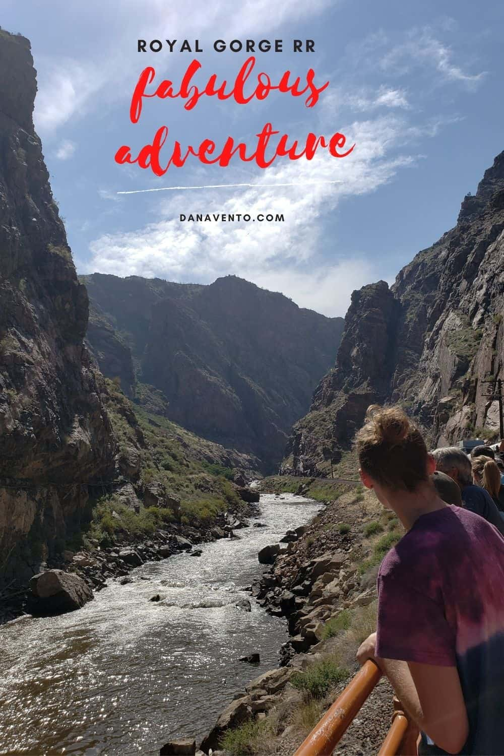 unofficial Colorado Springs travel guide Royal Gorge RR from Train