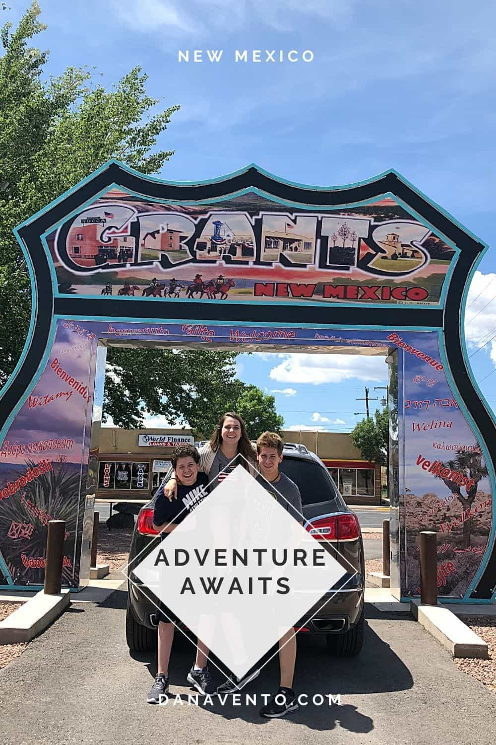 Kids at Route 66. New Mexico Summer Packing List