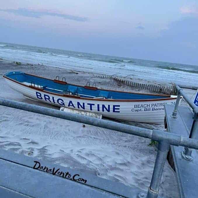 Brigantine beach Area Beach patrol boat