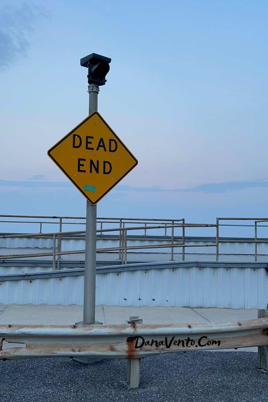 Dead End Brigatine beach area