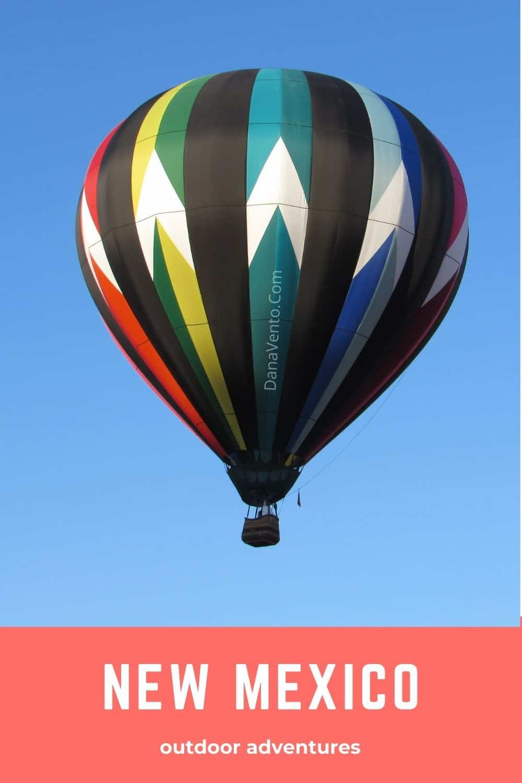 New Mexico Balloon In Air
