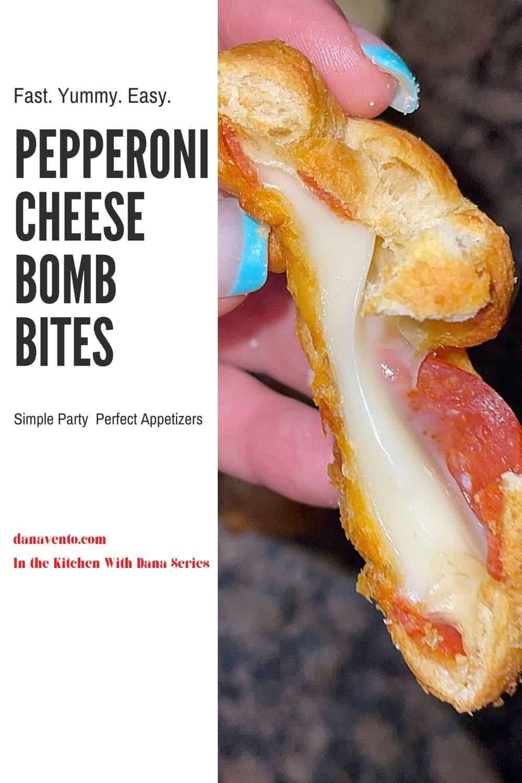 Pepperoni Cheese Bomb Bites