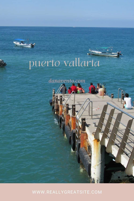 Puerto Vallarta Malecon water