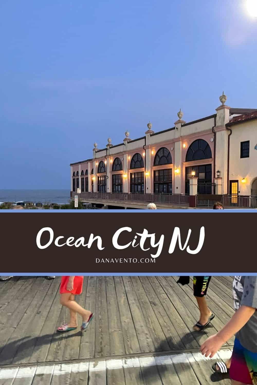 Ocean City NJ via boardwalk