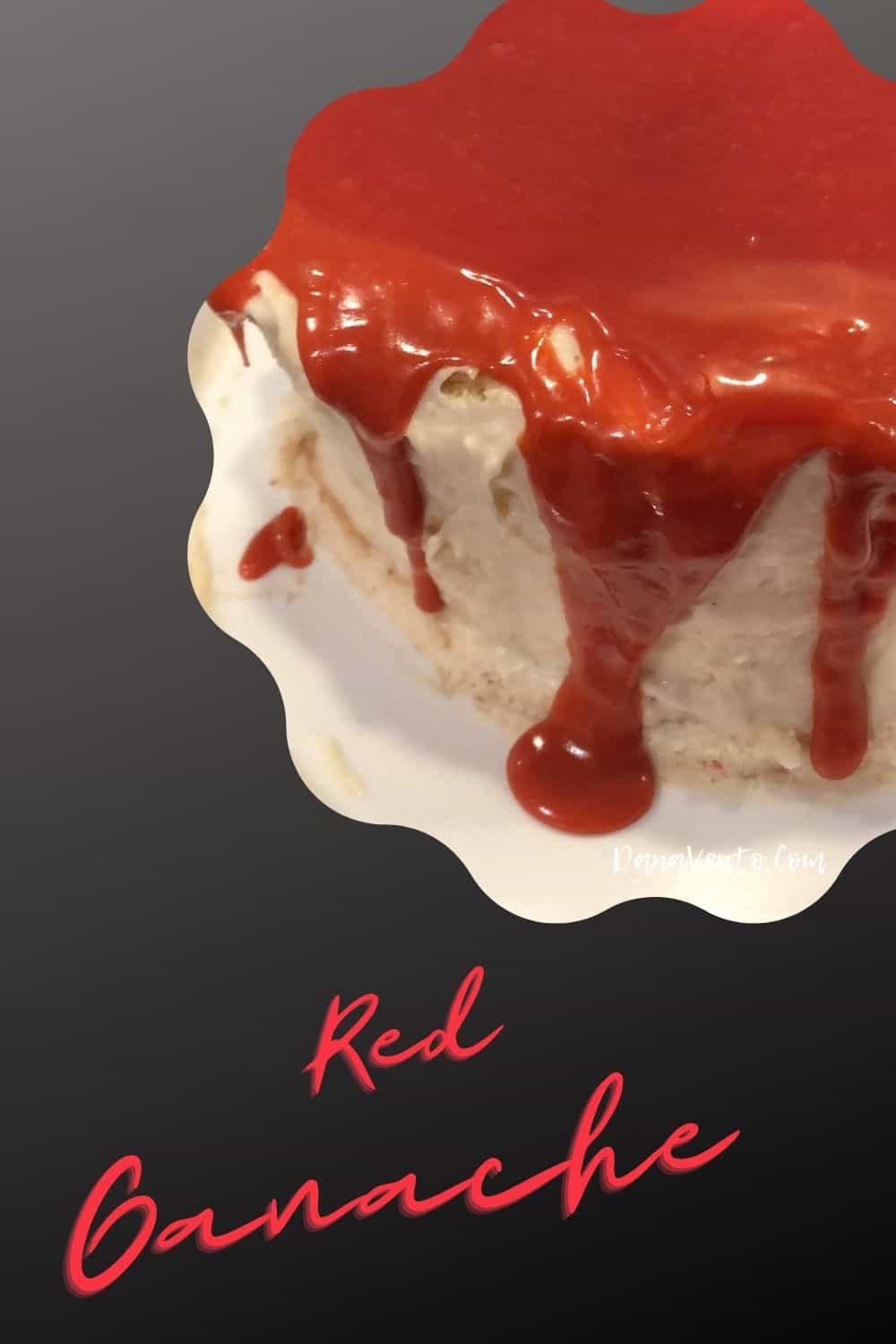 how to make red ganache