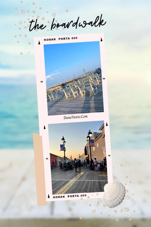 the boardwalk Ocean City NJ