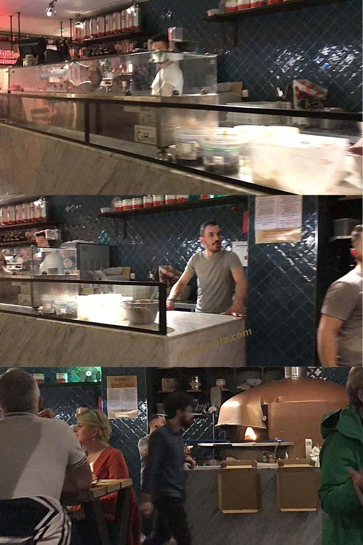 Inside SANO Temple Bar Area Authentic Italian Pizza