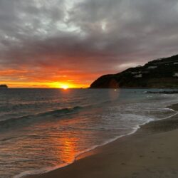 SXM adventures sunset