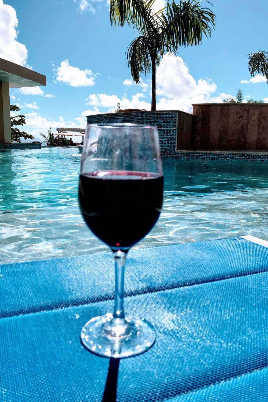 Wine poolside endless St. Maarten adventures