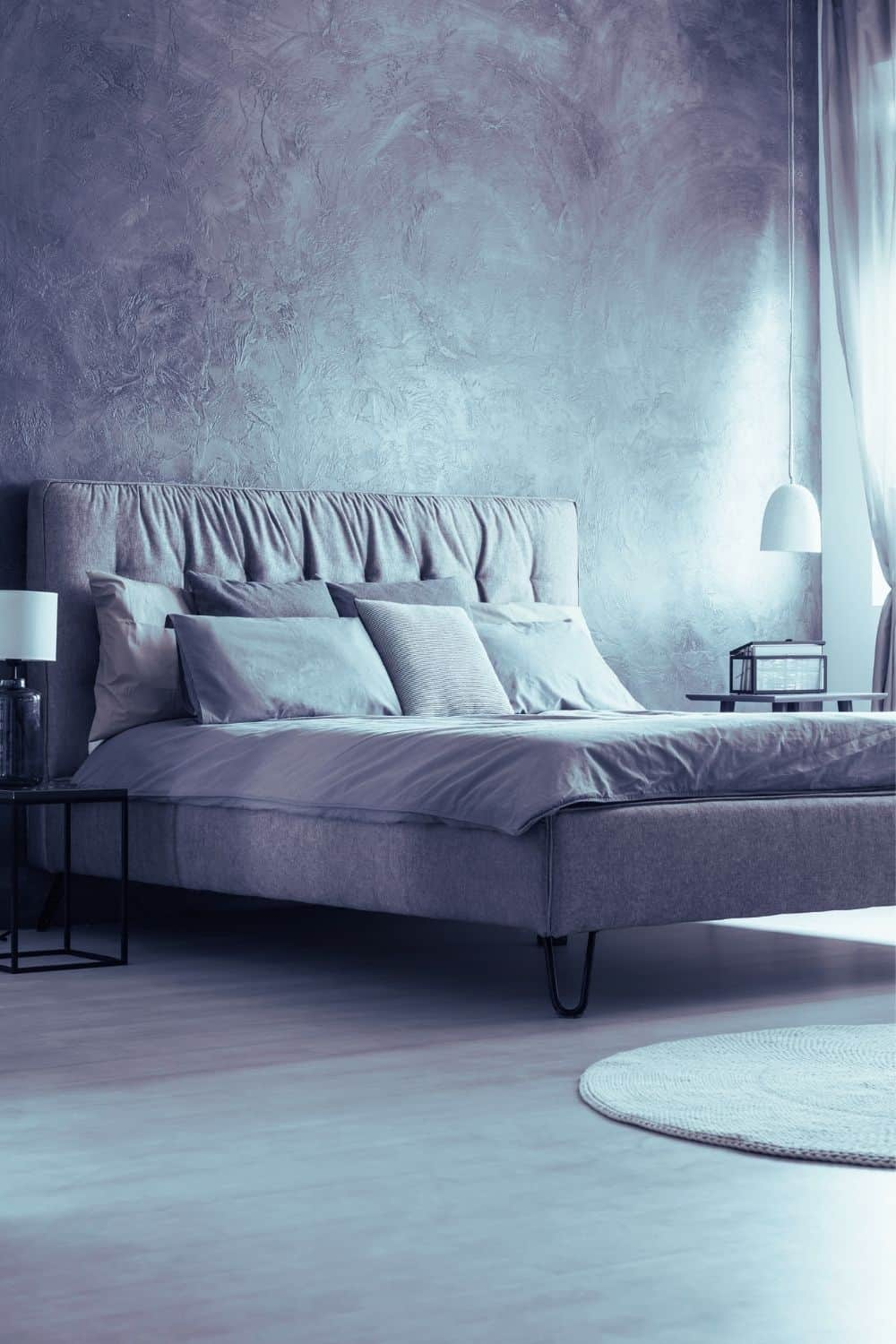 wake up refreshed + discover how to sleep better - bed in room