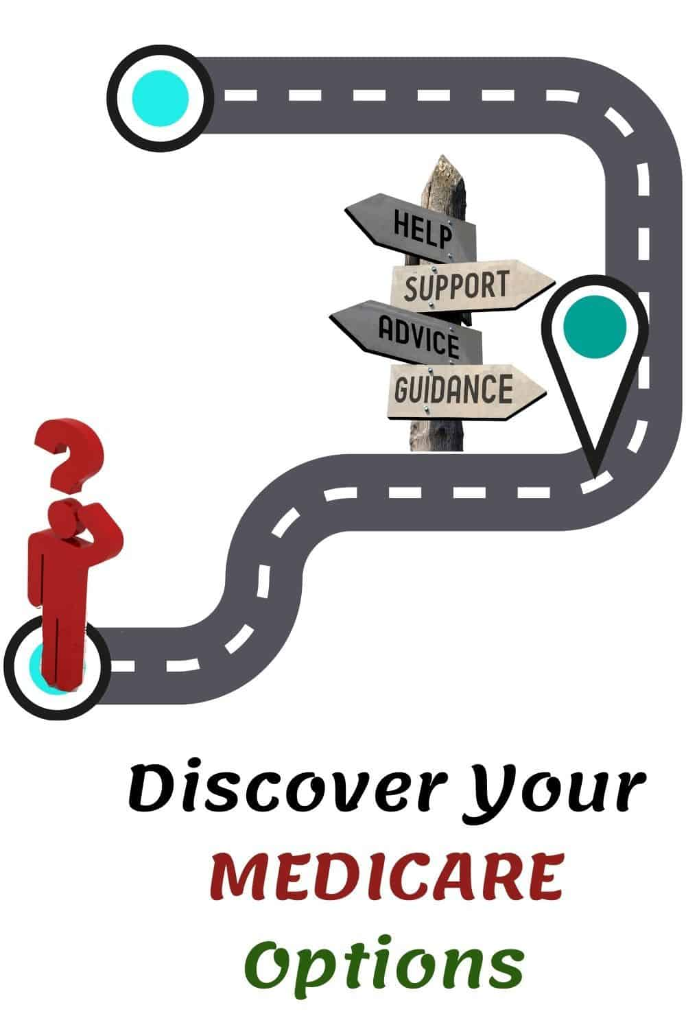 Discover Your MEDICARE Options a person looking for help