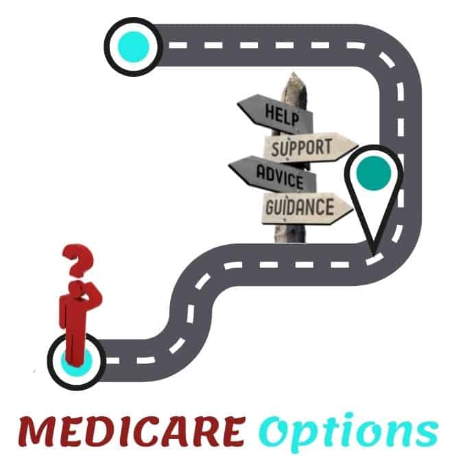 Discover Your MEDICARE Options a person looking for help to understand Medicare