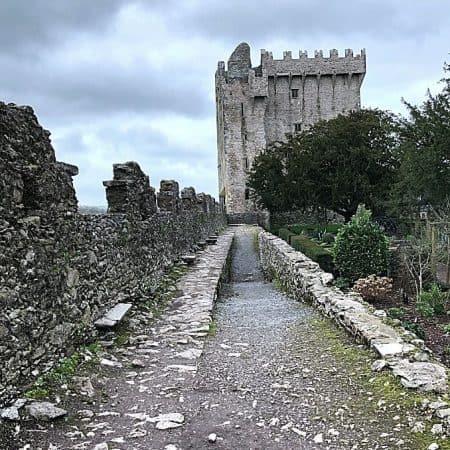 Epic Ireland Adventures to Discover Ireland at Blarney Stone Castle Below
